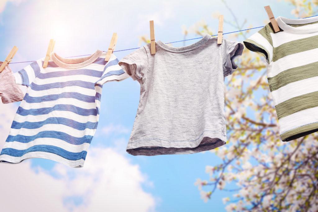 sådan tørrer du dit vasketøj
